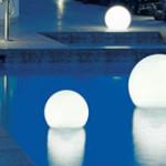 Balls on the pool banner